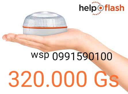 HELP FLASH Baliza Luminosa de Emergencia autónoma
